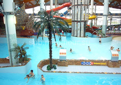 Aquapark «Waterville» on Vasilevskiy Ostrov