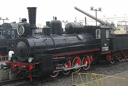 The Railway Museum at The Varshavskiy Railway Station