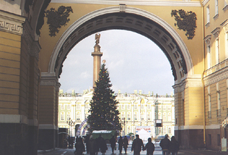 Palace Square - symbol of Saint Petersburg