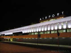 Pulkovo airport local airlines St Petersburg